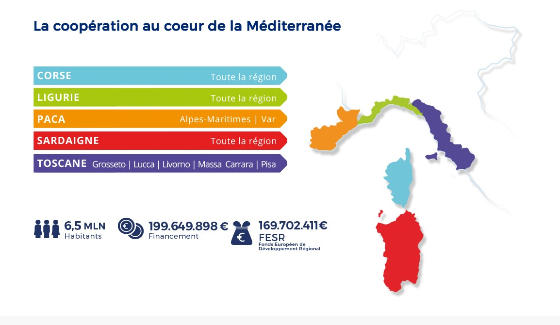 Carte Interreg