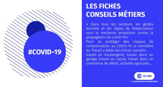 Fiches conseils métiers Covid19