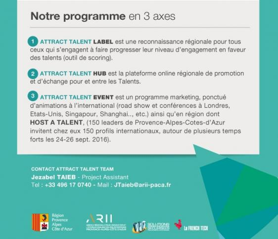 Programme Attract Talent