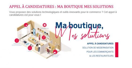 Ma Boutique, mes Solutions