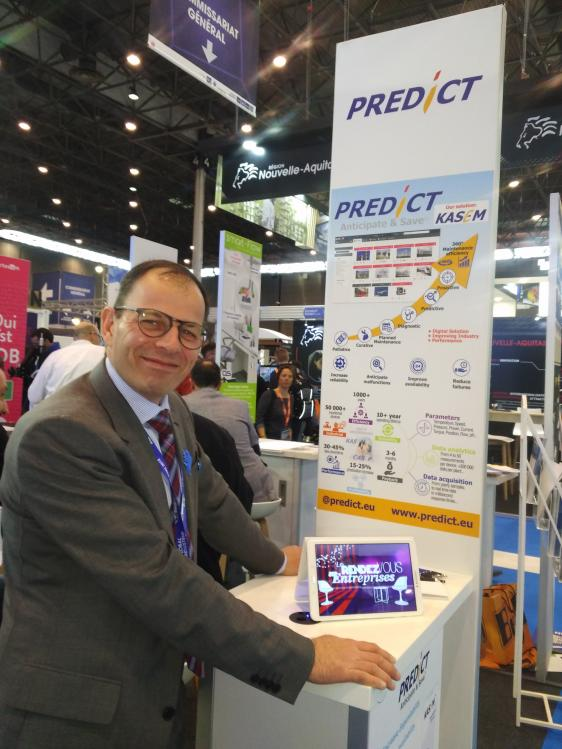 L'entreprise Predict au Salon Global Industrie