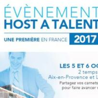 Host a Talent 2017, appel à candidature